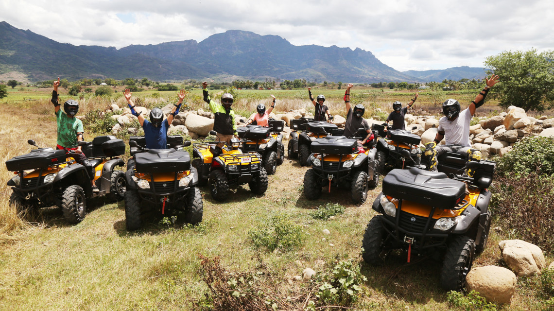 Motorbike Tours Fiji